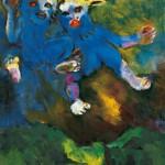 Frühmorgenflug, Gemälde 1940