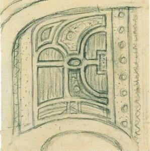 Gartenentwurf von Emil Nolde