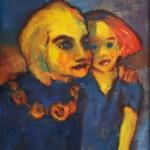 Ihre kleine Tochter, Gemälde 1951